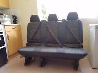 Mercedes Vito Crew Cab 2006 - Rear seats (3 seats and 2+1 seats) complete set