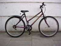 Ladies Mountain/ Commuter Bike by Falcon, Purple & Black, Like New!, JUST SERVICED / CHEAP PRICE!!!!