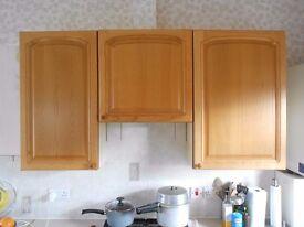 Kitchen cabinet doors in solid oak