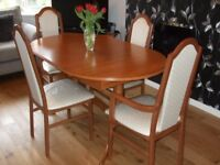 Dining Table and Chairs....Extendable