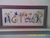Commissioned picture for MOTHER approx 20 years old.