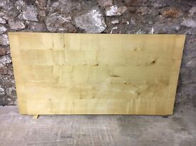 TABLE TOP - HAND MADE, SOLID SYCAMORE 169CM X 89CM X 32MM