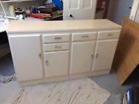 Retro kitchen cabinet unit.