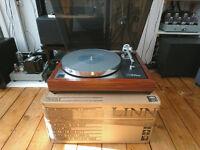 LINN LP12 Turntable with LINN ITTOK II tonearm and Hercules II power PCB