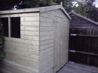 New Garden Shed 'Blackfen' 8 x 6 £499