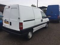 2004 FIAT SCUDO DOUBLE SIDE LOADER 1 yrs mot VERY CLEAN VAN IN AND OUT 3 SEATER EX FLORIST DELIVERY