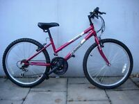 """Kids Bike by Tiger, Burgundy, 24"""" Wheels are Great for Kids 9 Years+, JUST SERVICED / CHEAP PRICE!!!"""