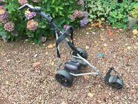 Powakaddy Golf Trolley Sports Digital With Lithium Battery/Charger