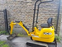 2014 JCB 8008 Micro Digger ( No Vat ) Low Hours 750