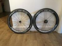 Road cycling wheels. Campagnolo Bullet Ultra 50mm.
