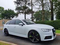 Feb 2017 Audi A4 2.0 TDI S Line 5dr AVANT! 1 OWNER, FULL A/S/H, BLACK ED STYLING & WHEELS