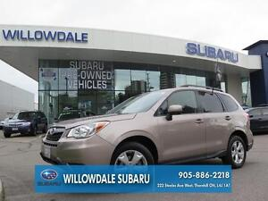 2015 Subaru Forester 2.5i Convenience Automatic No Accidents One