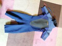 XS adult 2mm shorty wetsuit