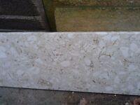 Marble slab suitable as hearth