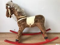 Small old rocking horse