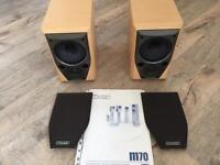 Mission M70 series speakers