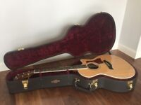 2014 Taylor 414ce acoustic guitar, mint condition