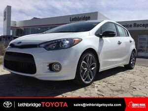 Certified 2016 KIA Forte Hatch SX t-GDi - TURBO! LOW KM!