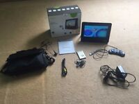 "Meos 9"" Portable TV + DVD Player + Games Player, USB/SD Card Player"