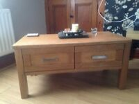 Solid oak furniture set