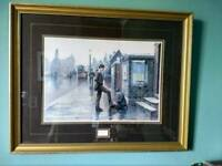 Pair of framed picture s
