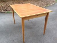 Solid Beech Extendable Dining Table