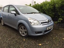 2007 Toyota Corolla Verso 2.2d4d full leather