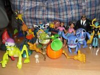 DISNEY CHARACTER TOYS DIFFERENT ONES