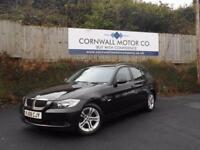 BMW 3 SERIES 2.0 318D SE TOURING 5d 141 BHP GOOD SPEC WITH RECE (black) 2008
