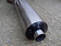 Honda cbr 1300 end can in excellent condition.