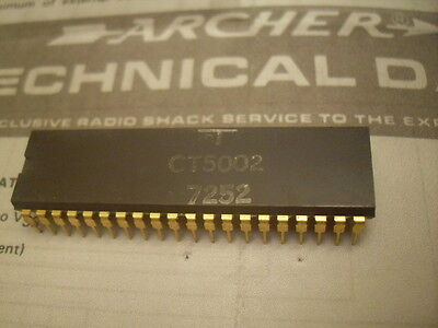 Caltex Ct5002 Calculator Nixie Collectible Rare Vintage Gold Pins Ic Data Sheet