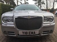 Chrysler 300C Touring bright silver, one owner from new - good condition