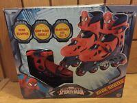 Marvel Spiderman In-line Skates Brand New