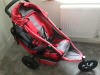 Phil and Ted sport double pushchair