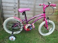 "GIRLS BIKE 15"" WHEEL 10"" FRAME"