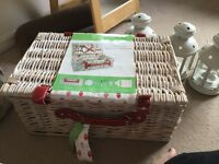Picnic basket for two never been used