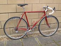 Peugeot road bike. Classic Reynolds 531 frame and forks.