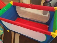 Playpen is in very good condition and hardly been used.
