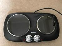 Cuismax Electric Hob Stove Camping & Home
