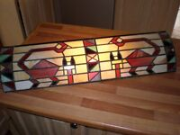 Tiffany style wall mounted light 30 inches long
