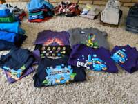 Huge Bundle Quality Boys Clothes Age 8 Lots of Minecraft items!
