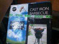 Small cast iron BBQ
