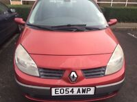 Renault Scenic dynamique dci, red,manual £999