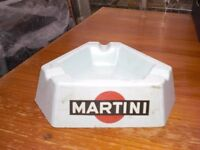 """MARTINI BLUE PERMAWARE MAKE - TRIANGLE SHAPED - 8"""" x 6"""" - NEVER BEEN USED"""