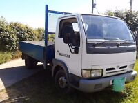 Nissan Cabstar twin wheel turbo diesel truck