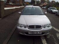 rover45 2001 1.4 4dr 72000 NO MOT £120
