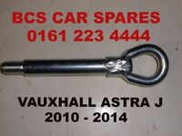 VAuxhall astra towing eye bolt 2010 - 2016 used