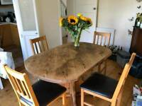 Nice old 4 seater dining room table