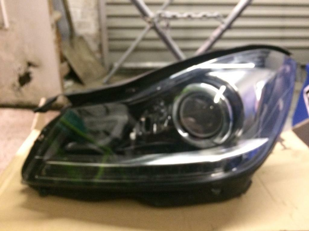 Mercedes headlight