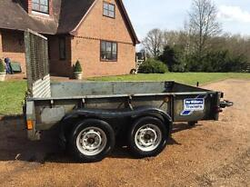 IFOR WILLIAMS GD85 PLANT / GENERAL TRAILER - 8ft x 5ft - 2700KG Gross Capacity